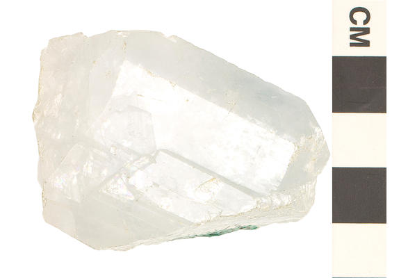 image of celestite an orthorhombic crystal shape