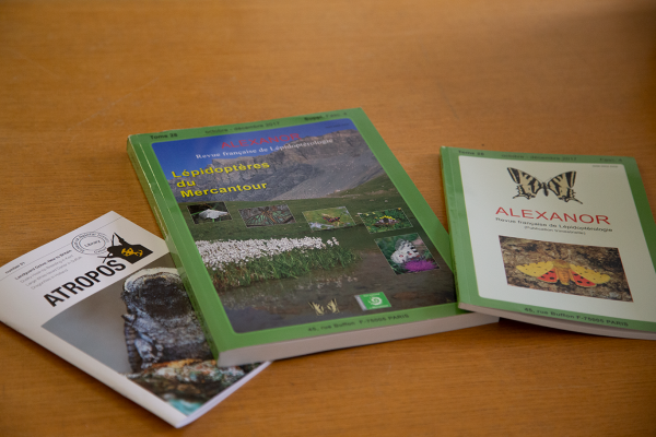 Selection of journals in the Library, Museum of Natural History
