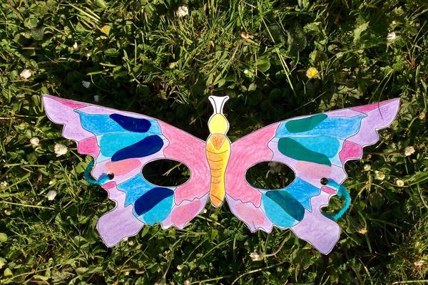 Ready made butterfly mask
