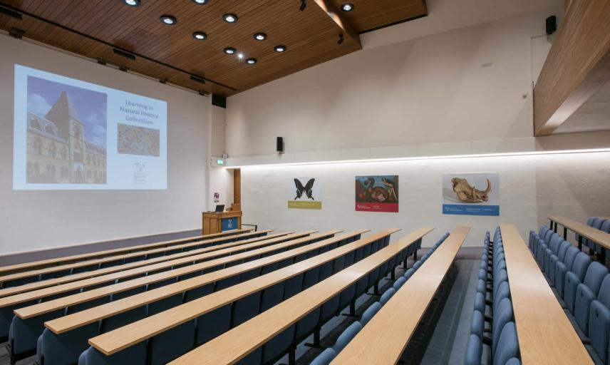 Lecture theatre Oxford University Museum of Natural History