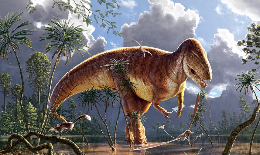 Megalosaurus palaeoenvironment