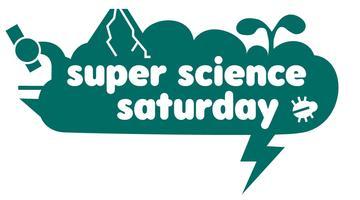 Super Science Saturday teal logo